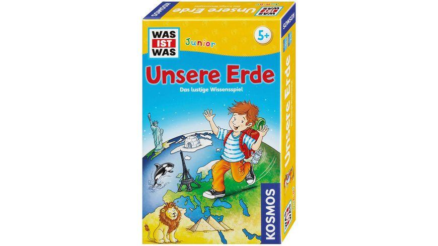 KOSMOS Kinderspiele WAS IST WAS Junior Unsere Erde