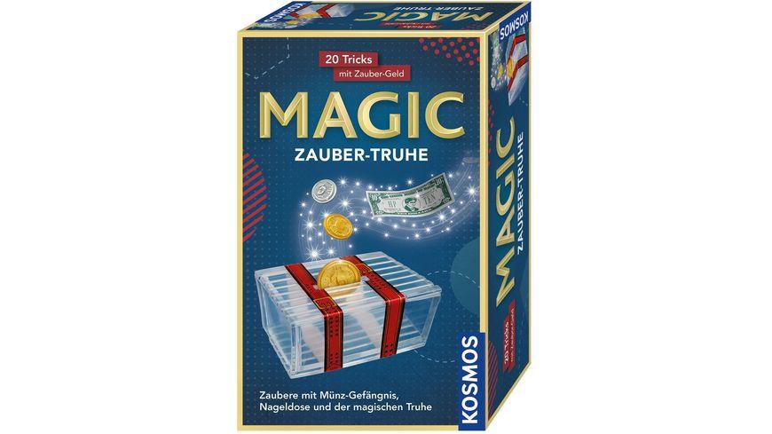 KOSMOS Mitbringexperimente Zauber Truhe 20 Tricks mit Zauber Geld