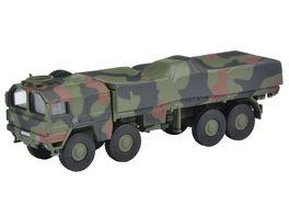 Schuco Military 1 87 MAN 10t GL Lkw Bundeswehr flecktarn