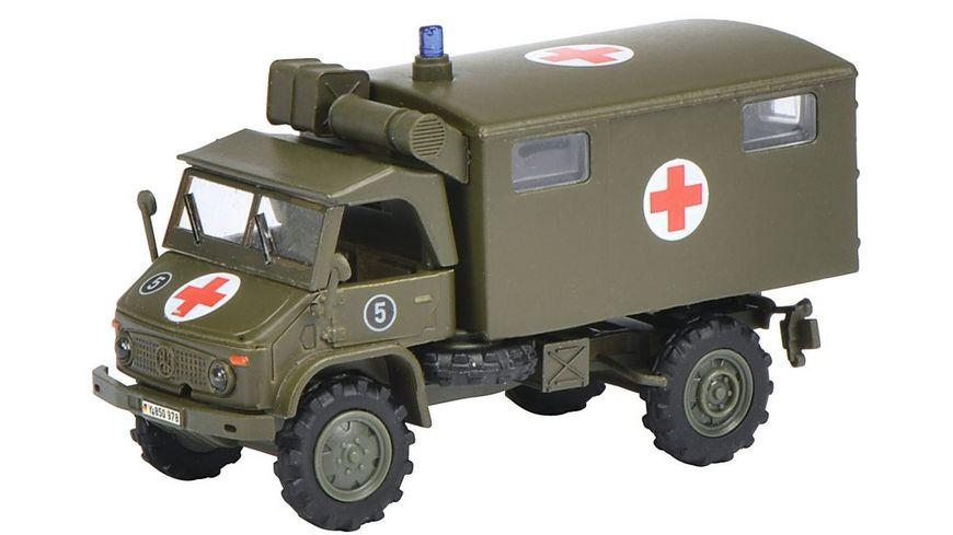 Schuco Military 1 87 Unimog S 404 Sanka Bundeswehr