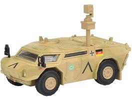 Schuco Military 1 87 Fennek Panzerspaehwagen ISAF flecktarn