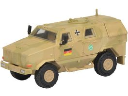 Schuco Military 1 87 Dingo I Allschutzfahrzeug ISAF flecktarn