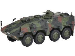 Schuco Military 1 87 Boxer Transportpanzer flecktarn Bundeswehr