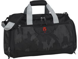 TAKE IT EASY Sporttasche Rom Camouflage Black