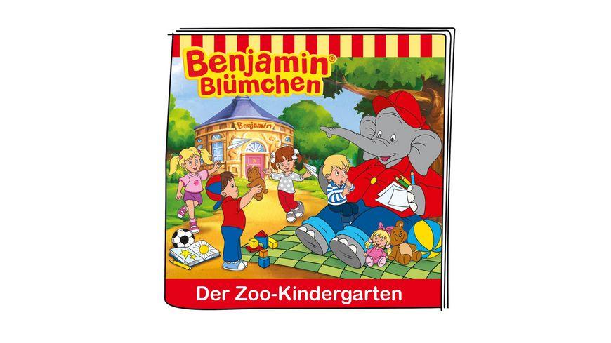 tonies Hoerfigur fuer die Toniebox Benjamin Bluemchen und der Zoo Kindergarten