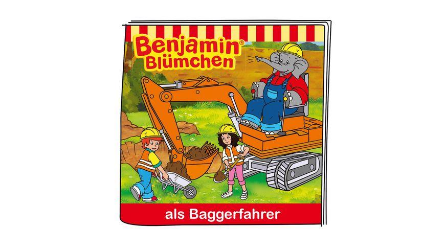 tonies Hoerfigur fuer die Toniebox Benjamin Bluemchen als Baggerfahrer