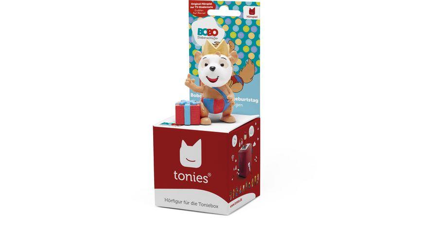 tonies Hoerfigur fuer die Toniebox Bobo feiert Kindergeburtstag und weitere Folgen