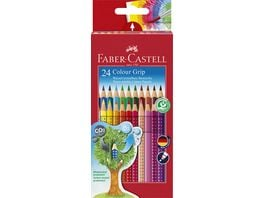 FABER CASTELL Farbstift Grip Colour 24er Etui