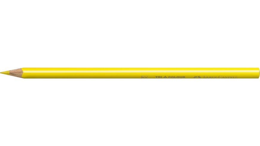 FABER CASTELL Farbstift dreikantt im 12er Kartonetui