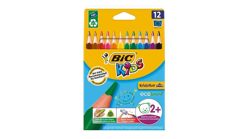 BiC Kids ECOlutions Evolution Buntstifte 12er Pack