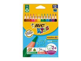 BiC Kids ECOlutions Evolution Buntstifte 12er Pack