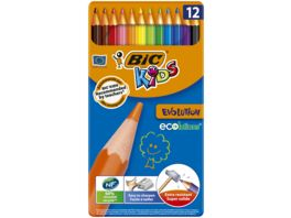 BiC Kids Ecolutions Evolution Buntstifte 12er Box