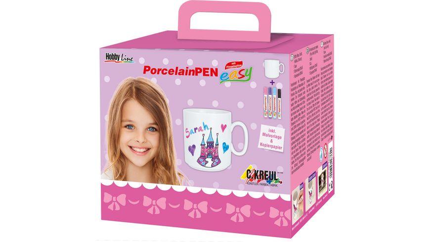 KREUL PorcelainPen easy Komplett Set Maedchen