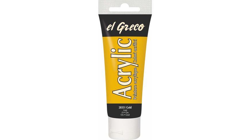KREUL el Greco Metallic Acrylfarbe 75 ml Tube