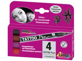 KREUL TattooPen 4er Set