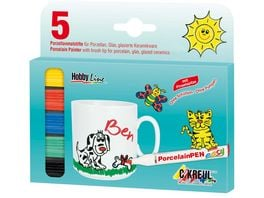 KREUL PorcelainPen easy 5er Set