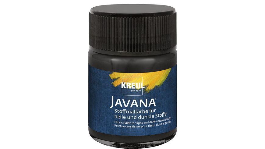 KREUL Javana Stoffmalfarbe für helle und dunkle Stoffe 50 ml