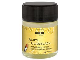 KREUL Acryl Glanzlack transparent auf Kunstharzbasis 50 ml