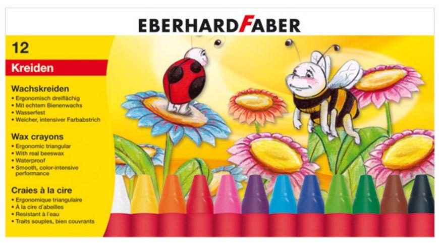 EBERHARD FABER  Wachsmalkreide dreiflächig