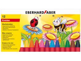 EBERHARD FABER Wachsmalkreide dreiflaechig 12er Etui