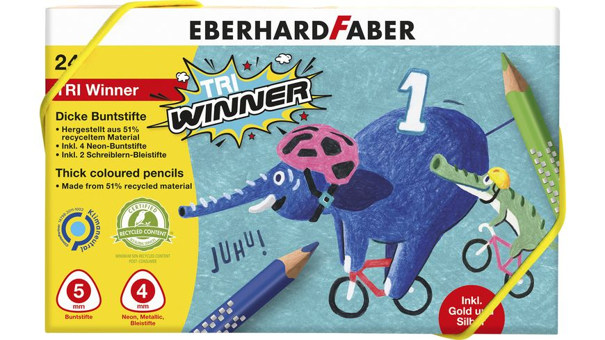 EBERHARD FABER Buntstift TRI Winner