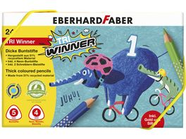 EBERHARD FABER Buntstift TRI Winner 24er Kunststoffbox