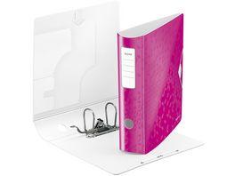 LEITZ Ordner Active WOW breit A4 pink