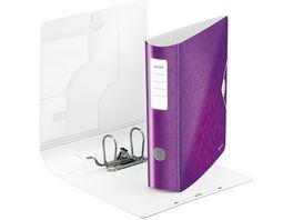 LEITZ Ordner Active WOW breit A4 violett
