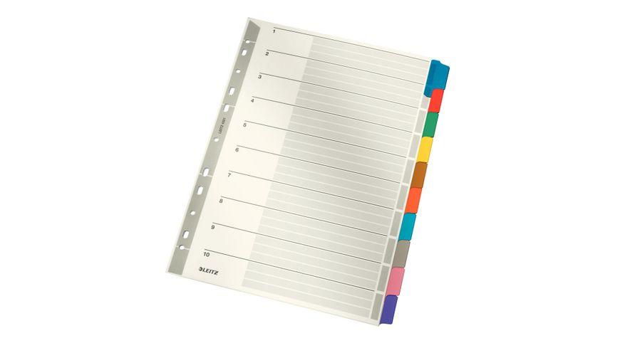 LEITZ Karton Register A4