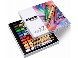 JAXON Aquarellkreide 12er Pack