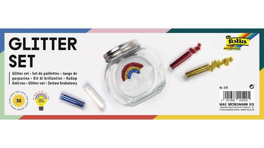 folia Glitter Set 30 Dosen