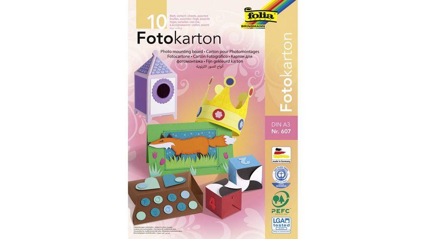 folia Fotokartonblock 10 Boegen DIN A3