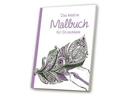 media Verlag Das kreative Malbuch fuer Erwachsene