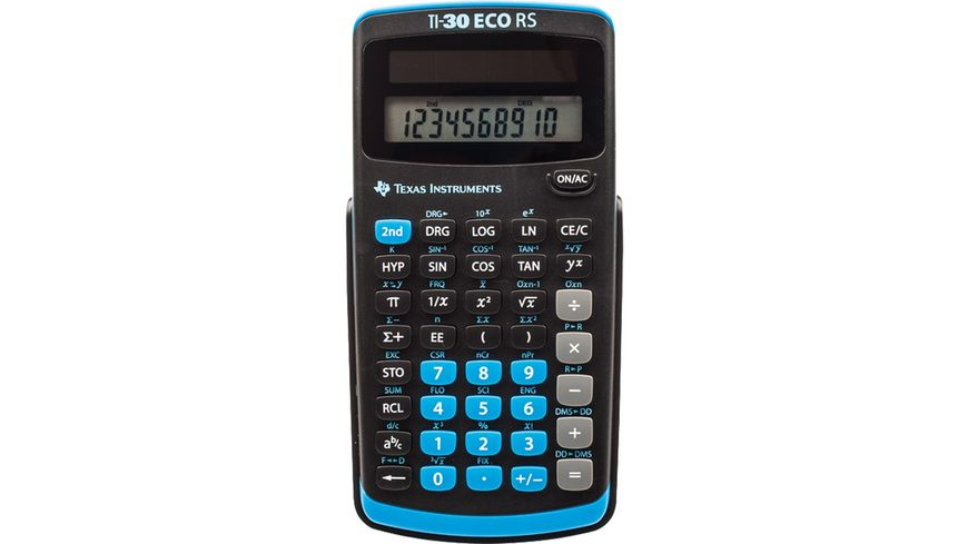 Texas Instruments Taschenrechner Ti 30 Eco Rs Online Bestellen Müller
