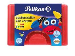 Pelikan Wachsmalstifte dick 8er Box
