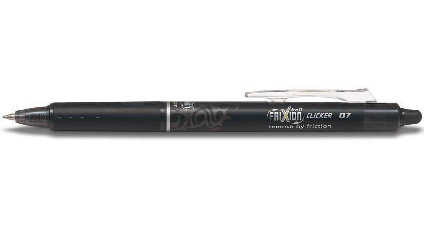 PILOT Tintenroller FRIXION Ball Clicker radierbar