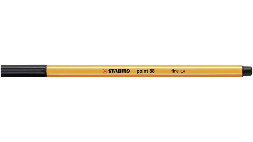 STABILO Fineliner point 88 Standard 10er Etui