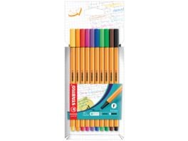 STABILO Fineliner point 88 Standard 10er Etui