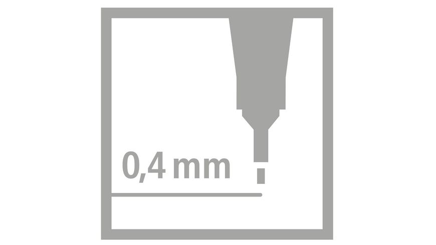 STABILO Fineliner point 88 6er Etui