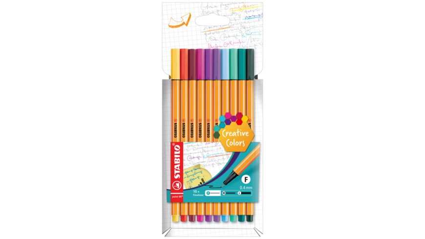 STABILO Fineliner point 88 10er Etui