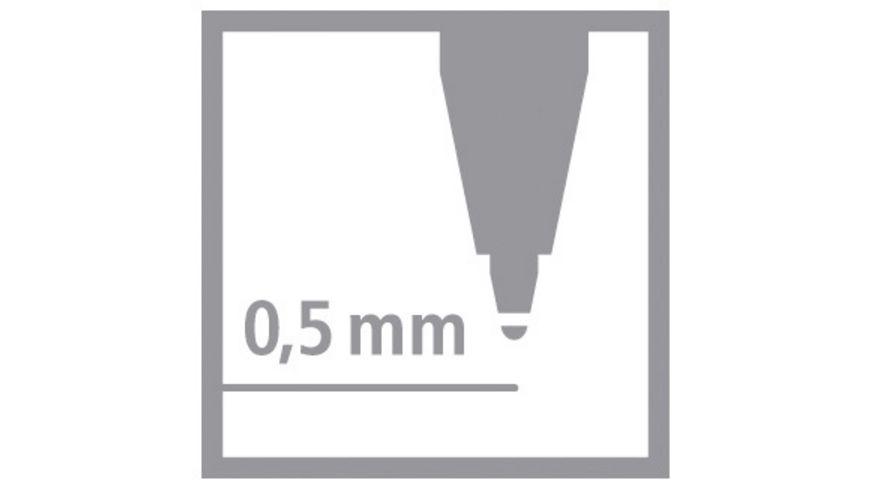 STABILO Tintenroller pointVisco 4er Etui