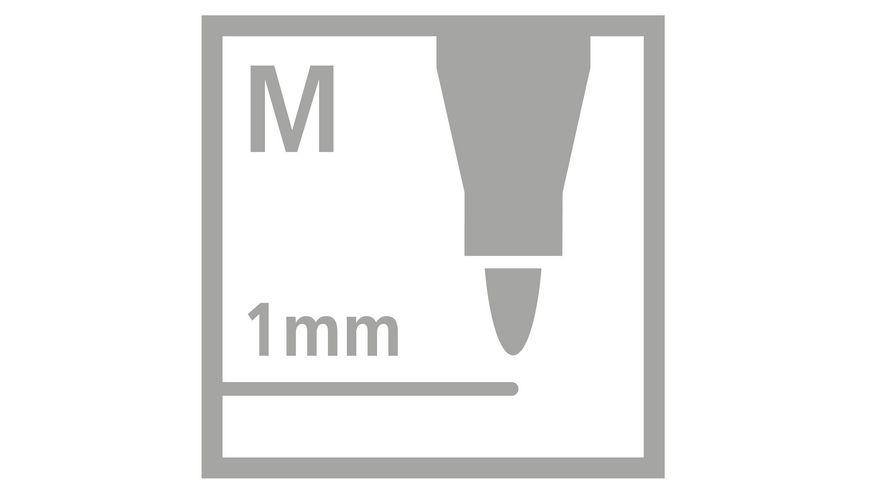 STABILO Fasermaler Cappi 12er Etui