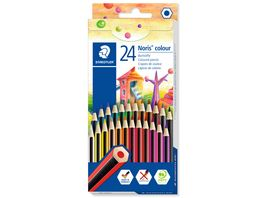 STAEDTLER Noris colour 24 Farben im Kartonetui