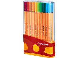 STABILO Fineliner point 88 ColorParade 20er Box