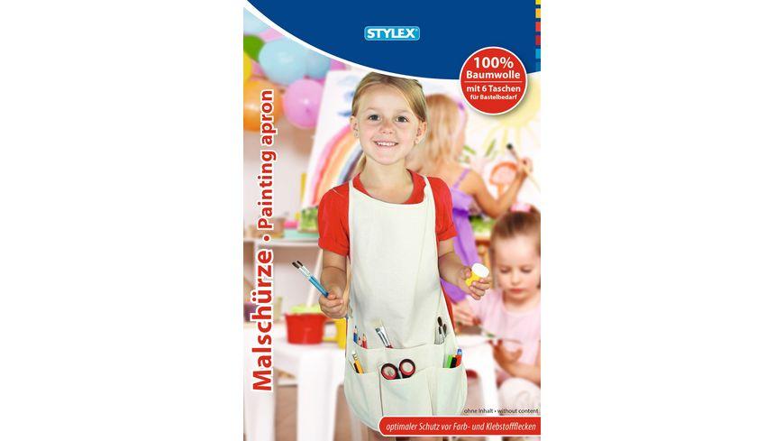 STYLEX  Malschürze aus Baumwolle