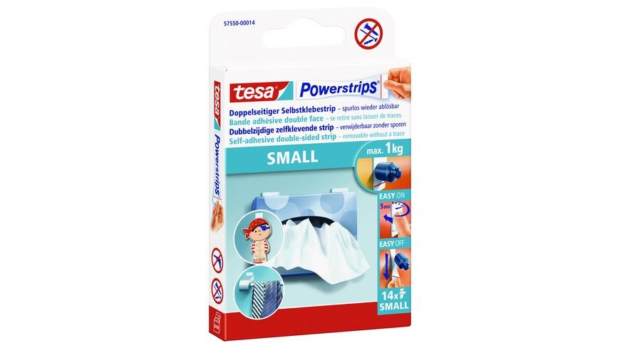 tesa Powerstrips Small