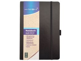 Paperzone Notizbuch A5 kariert