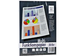 Multi Funktionspapier A4 200 Blatt