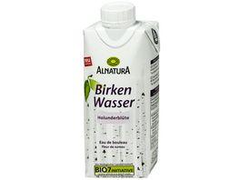 Alnatura Birkenwasser Holunderbluete