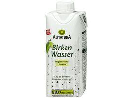 Alnatura Birkenwasser Ingwer Limette